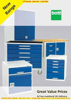 Bott workshop and storage Equipment catalogue from Storage Design Limited
